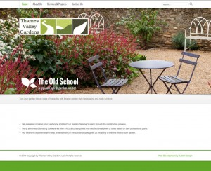 WordPress landscaping website design