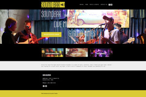 The Sound Bar website